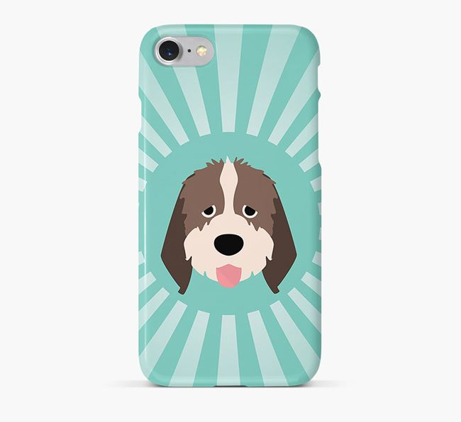 Italian Spinone Rays Phone Case