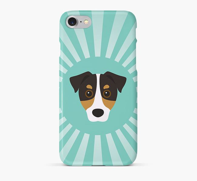Jack Russell Terrier Rays Phone Case