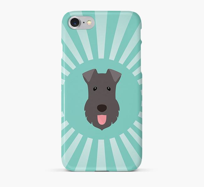 Kerry Blue Terrier Rays Phone Case
