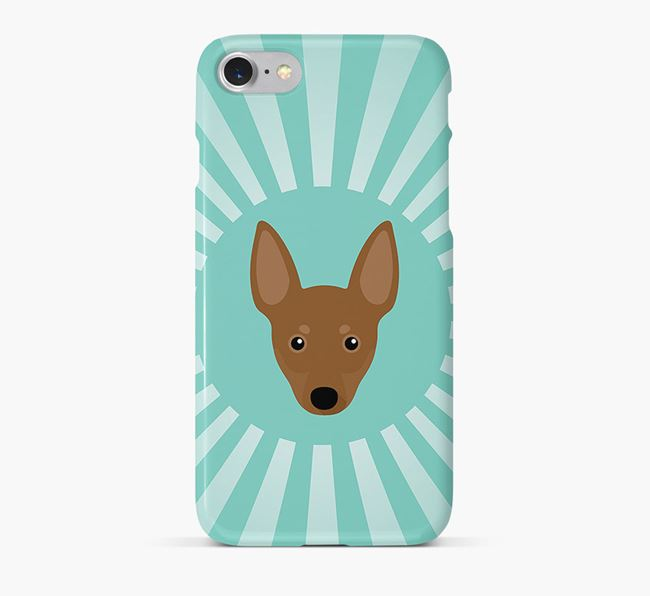 Manchester Terrier Rays Phone Case