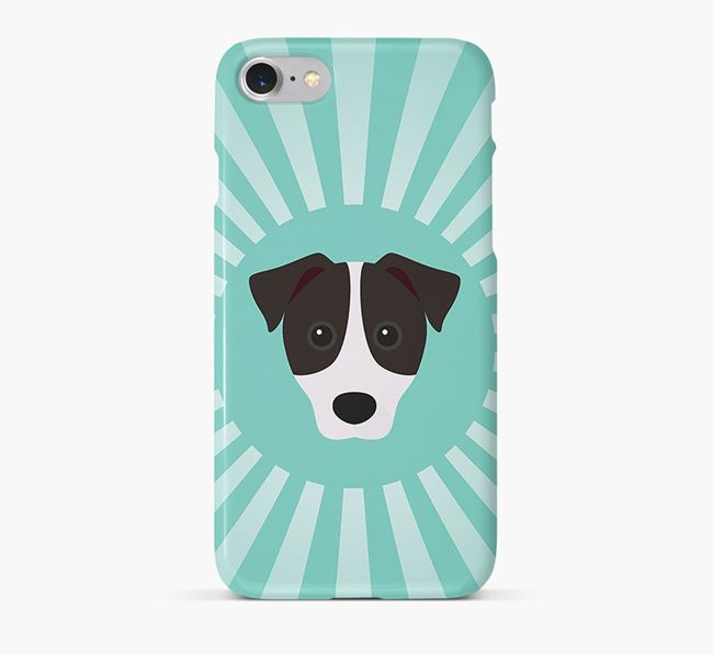 Patterdale Terrier Rays Phone Case