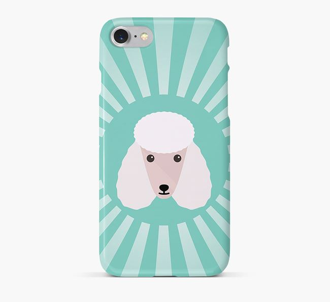Poodle Rays Phone Case
