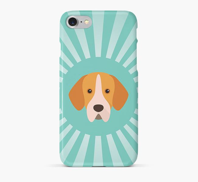 Portuguese Pointer Rays Phone Case
