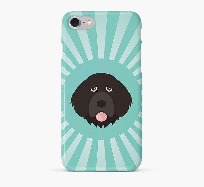 Portuguese Water Dog Rays Phone Case