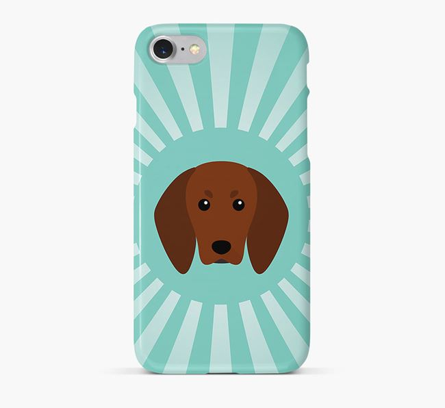 Redbone Coonhound Rays Phone Case