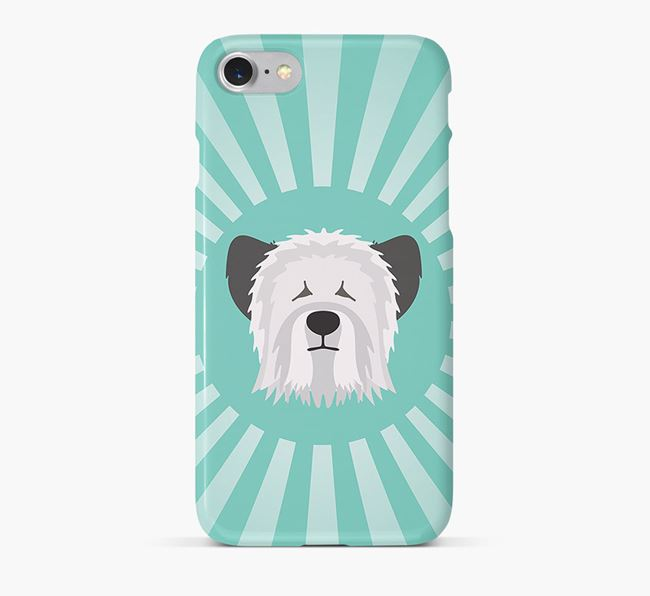Skye Terrier Rays Phone Case