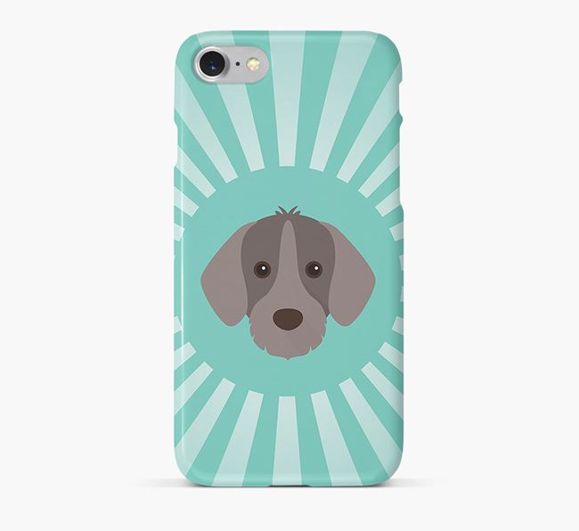 Slovakian Rough Haired Pointer Rays Phone Case