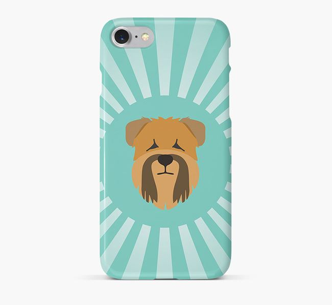 Soft Coated Wheaten Terrier Rays Phone Case