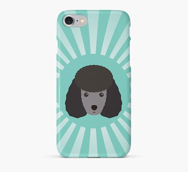 Toy Poodle Rays Phone Case