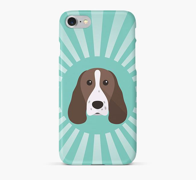 Welsh Springer Spaniel Rays Phone Case