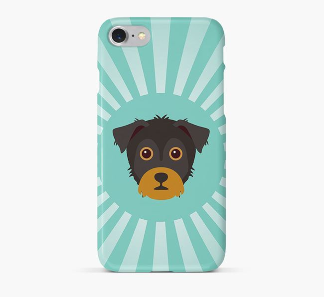 Yorkie Russell Rays Phone Case