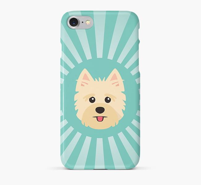 Yorkshire Terrier Rays Phone Case