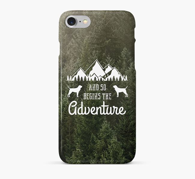'And so begins the adventure' Phone Case