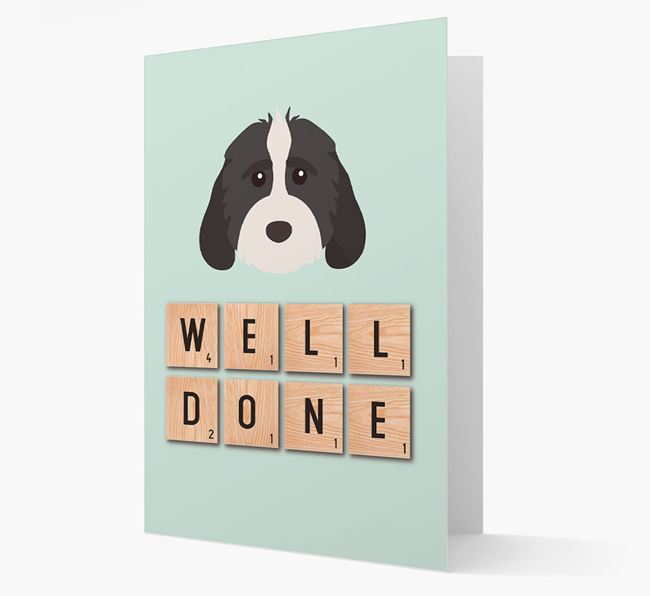 'Well Done' Cockapoo Card