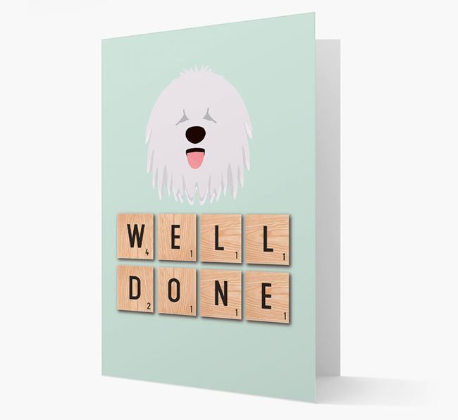 'Well Done' Komondor Card