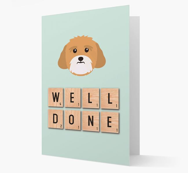 'Well Done' Lhasa Apso Card