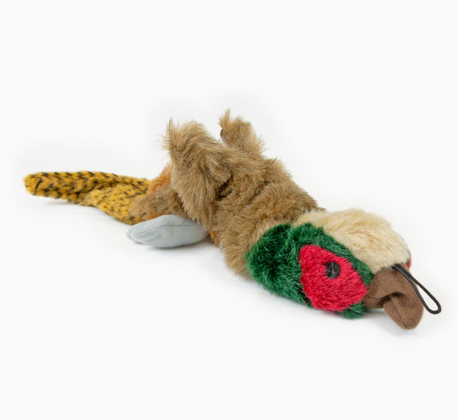 Empty Nester Pheasant Dog Toy