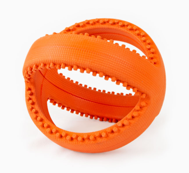 Interactive Football Dog Toy