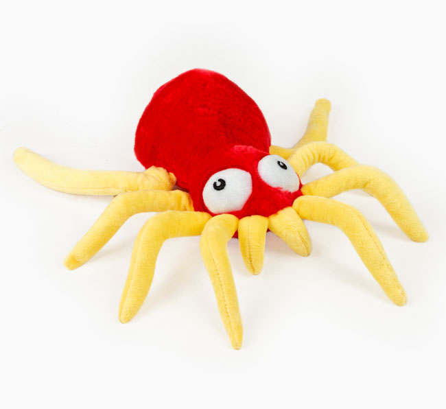 Craft Creature Spider Toy Poodle Toy