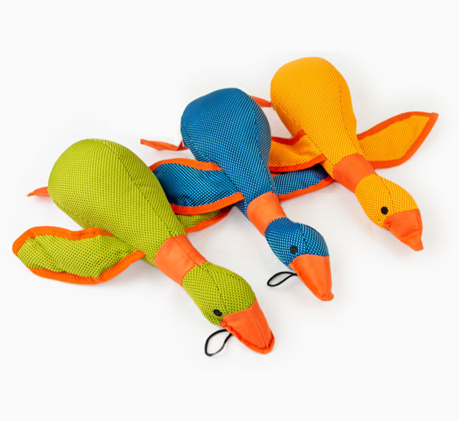 Dazzle Duck Dog Toy