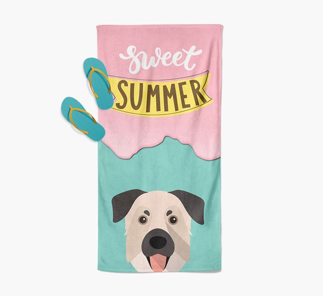 Sweet Summer with Chinook Icon Pool Towel