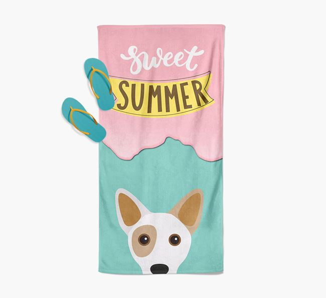 Sweet Summer with Cojack Icon Pool Towel