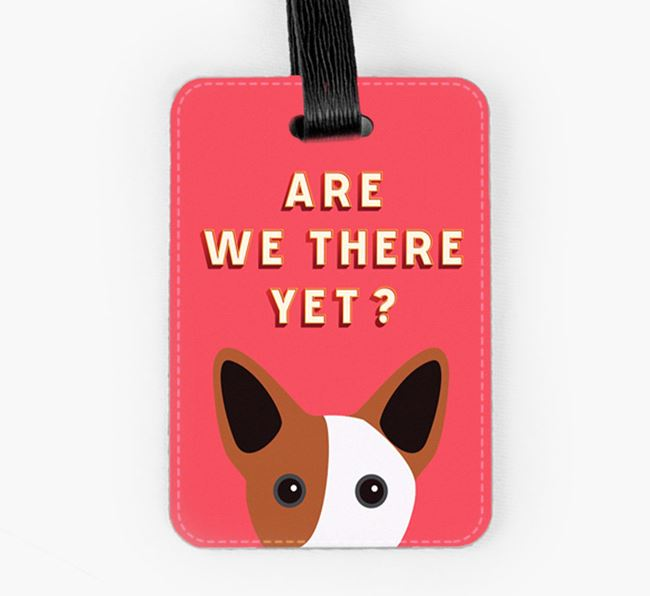 'Are We There Yet?' Cojack Luggage Tag