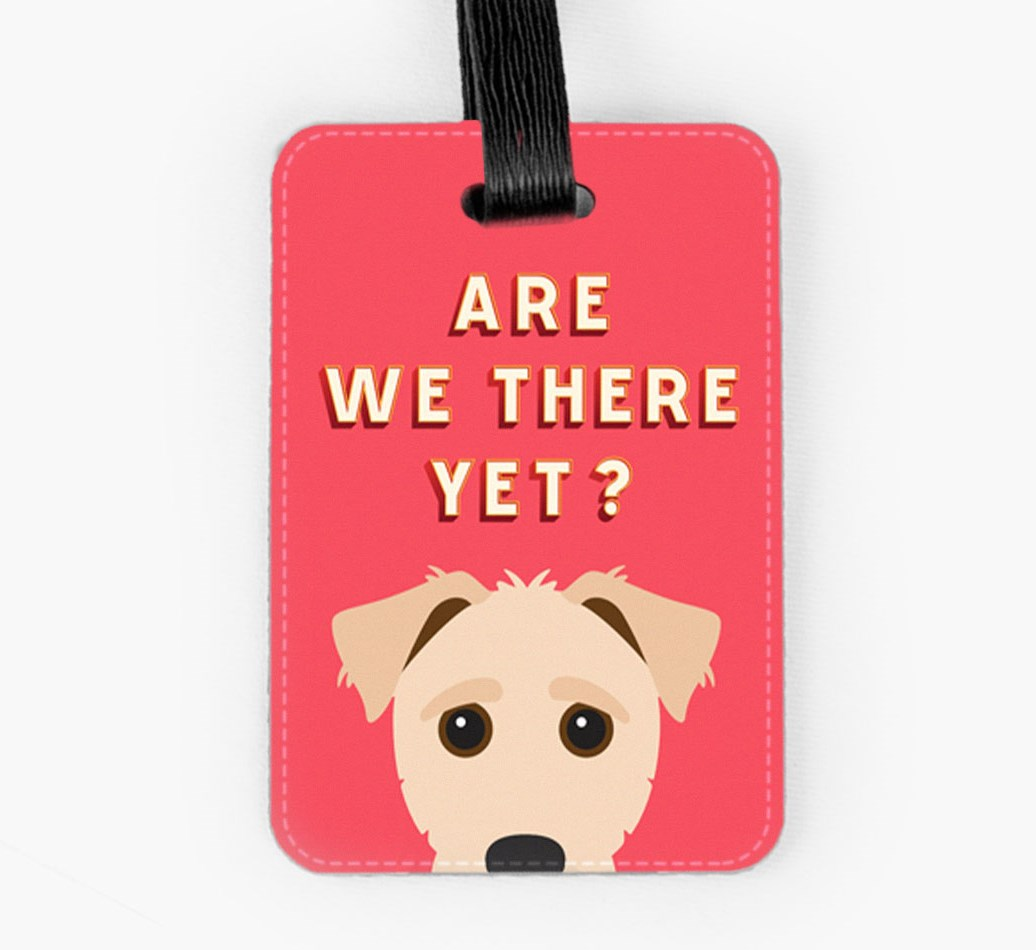 Jack-A-Poo Luggage Tag Front