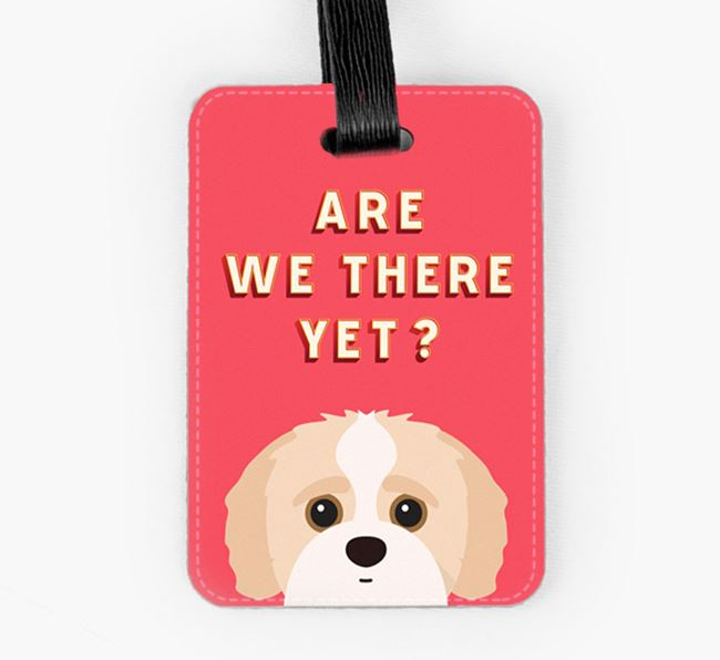 'Are We There Yet?' Jack-A-Poo Luggage Tag