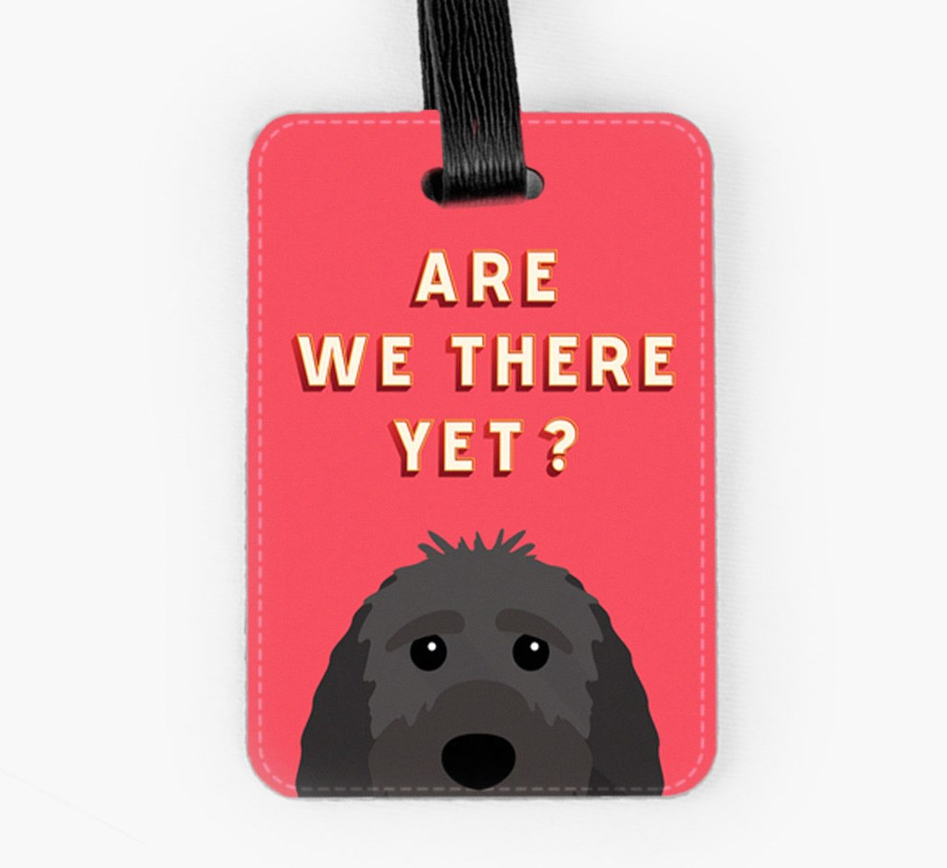 Sproodle Luggage Tag Front