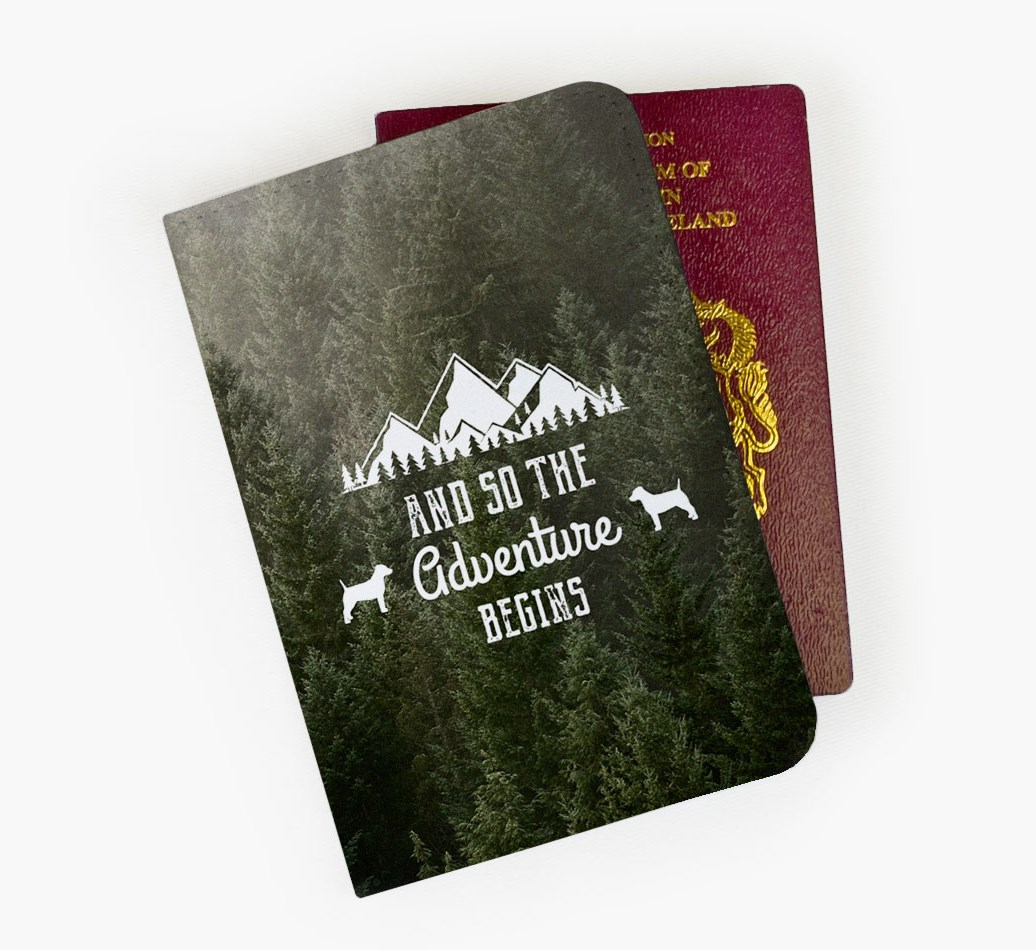 Parson Russell Terrier Passport Cover Front