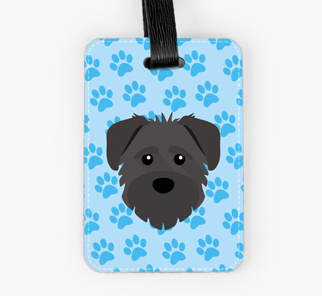Schnoodle Luggage Tag Front