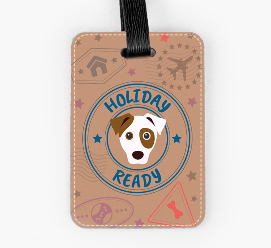 Dog Luggage Tag Front