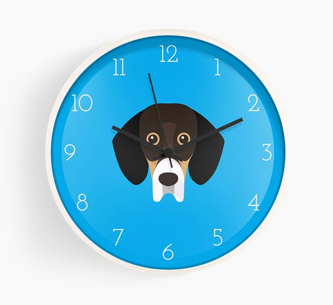 Wall Clock with Bassador