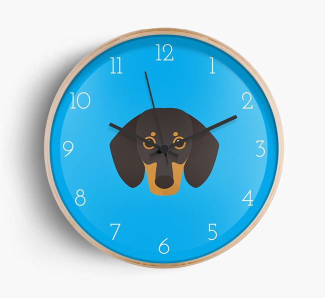 Wall Clock with Dog