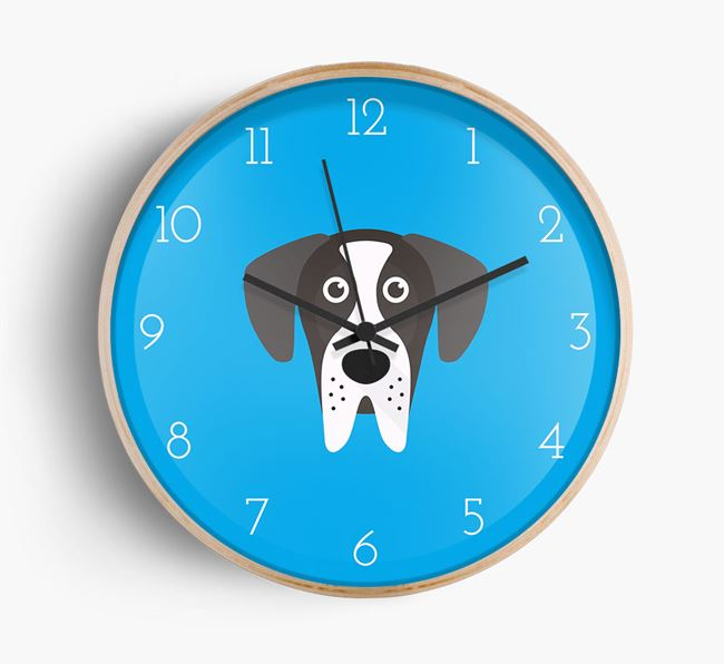 Wall Clock with Great Dane