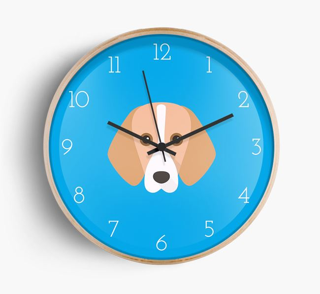 Wall Clock with Harrier