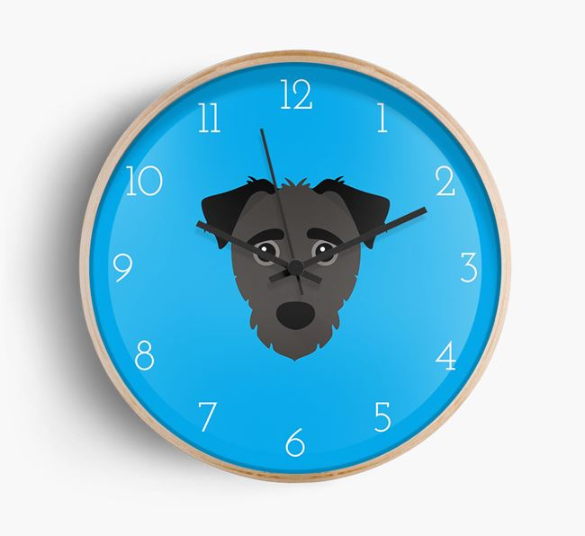 Wall Clock with Jack-a-Poo