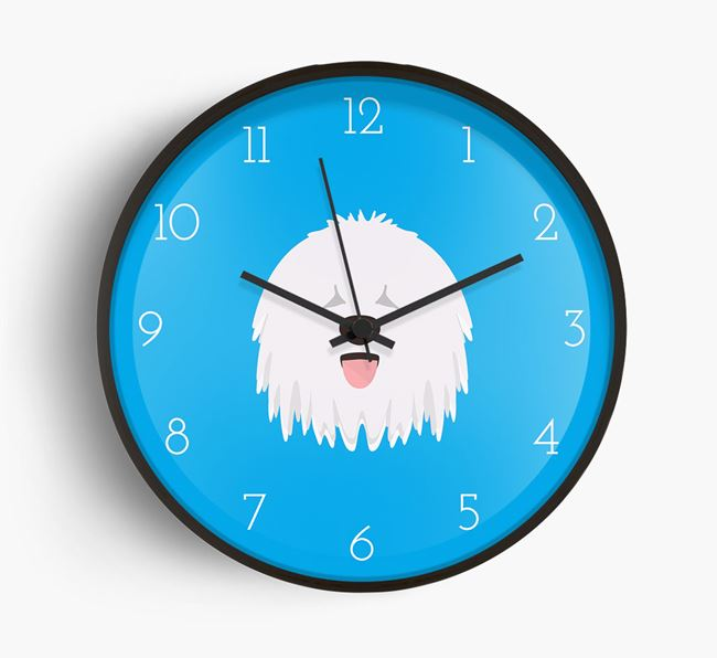 Wall Clock with Komondor