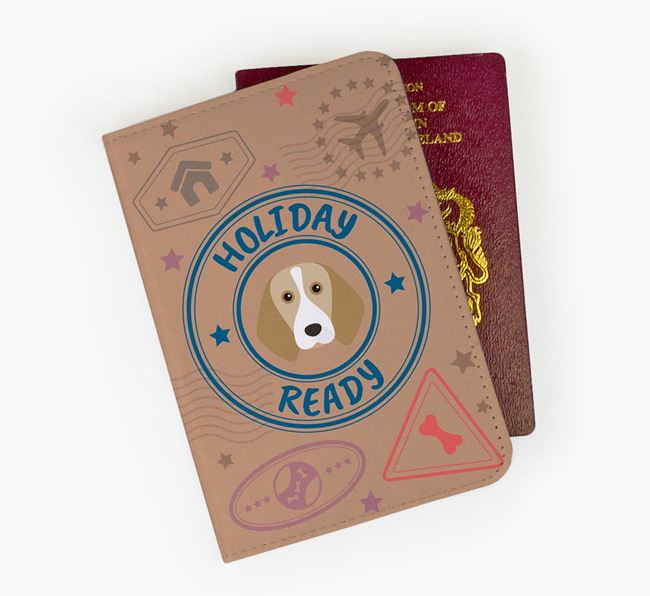 'Holiday Ready' Beagle Passport Cover