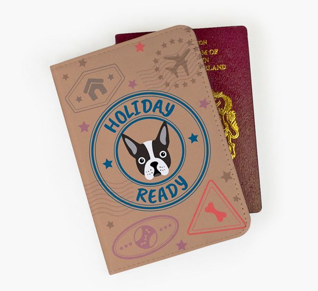 'Holiday Ready' Dog Passport Cover