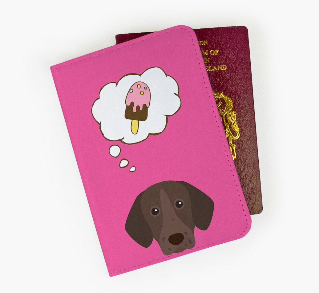 German Shorthaired Pointer Passport Cover Front