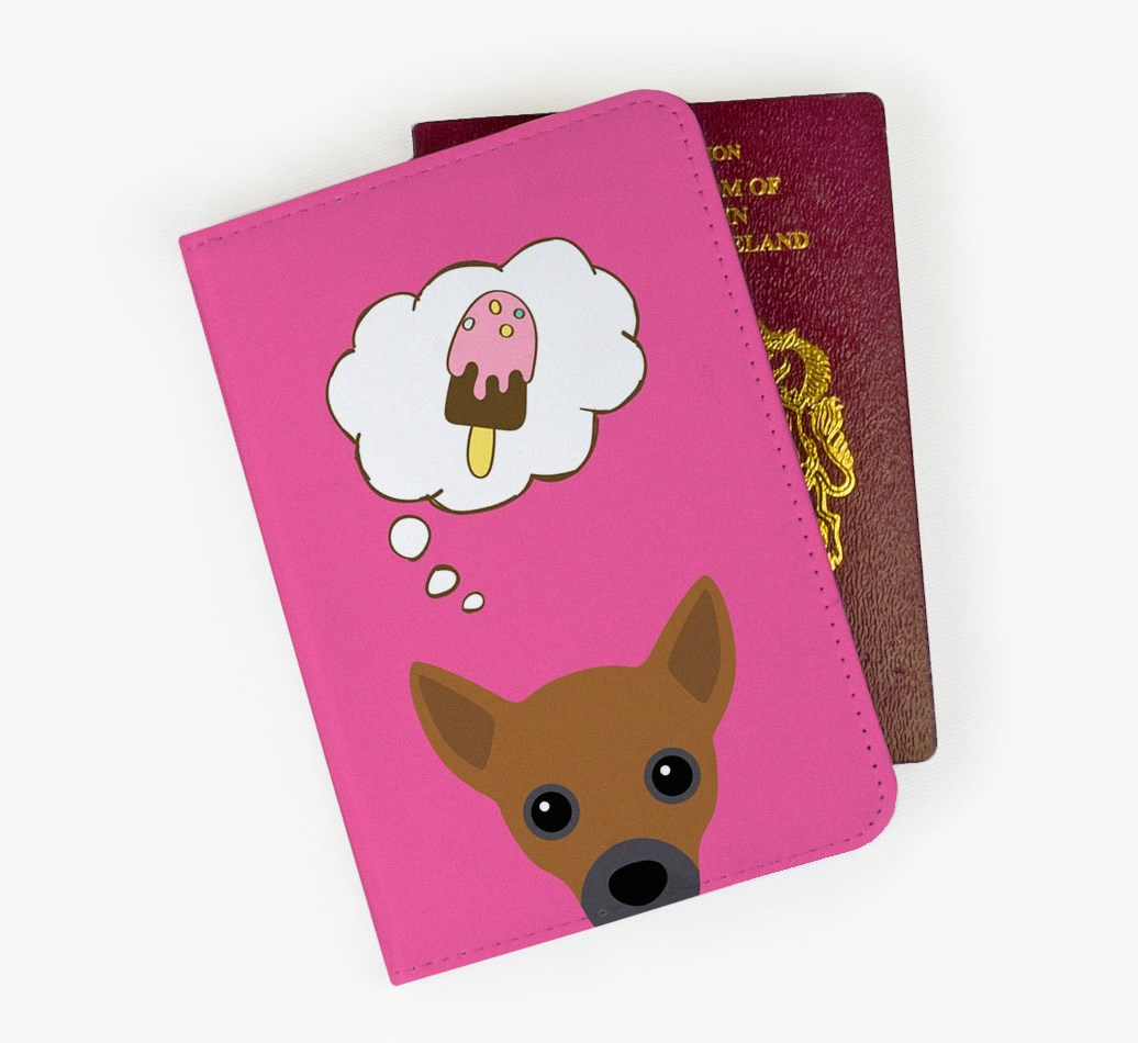 Jackahuahua Passport Cover Front