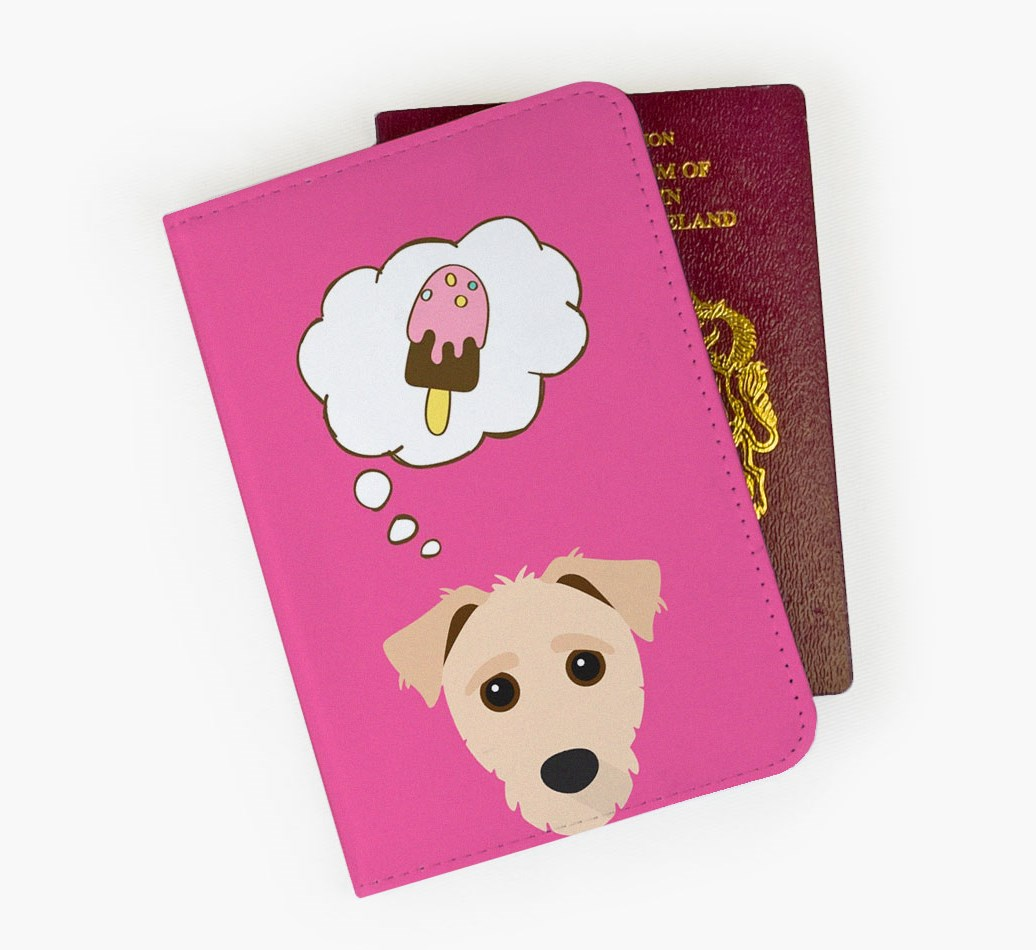 Jack-A-Poo Passport Cover Front