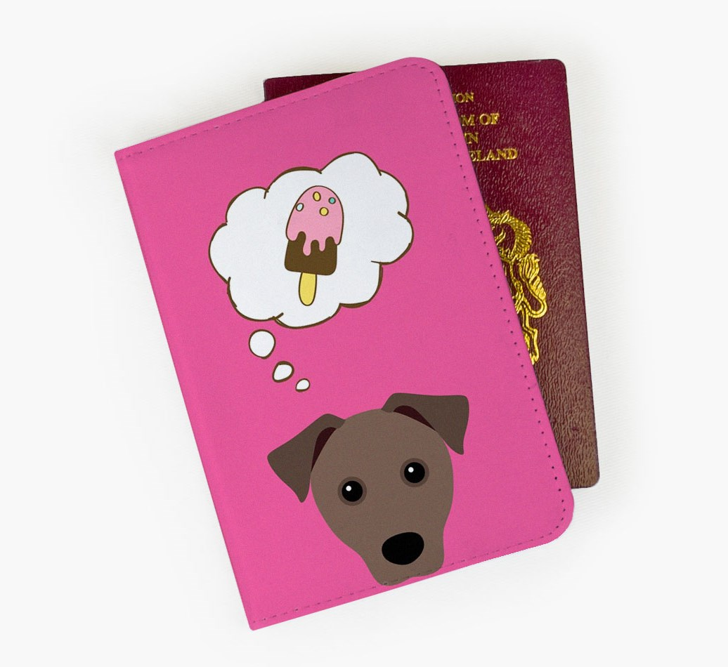 Mixed Breed Passport Cover Front