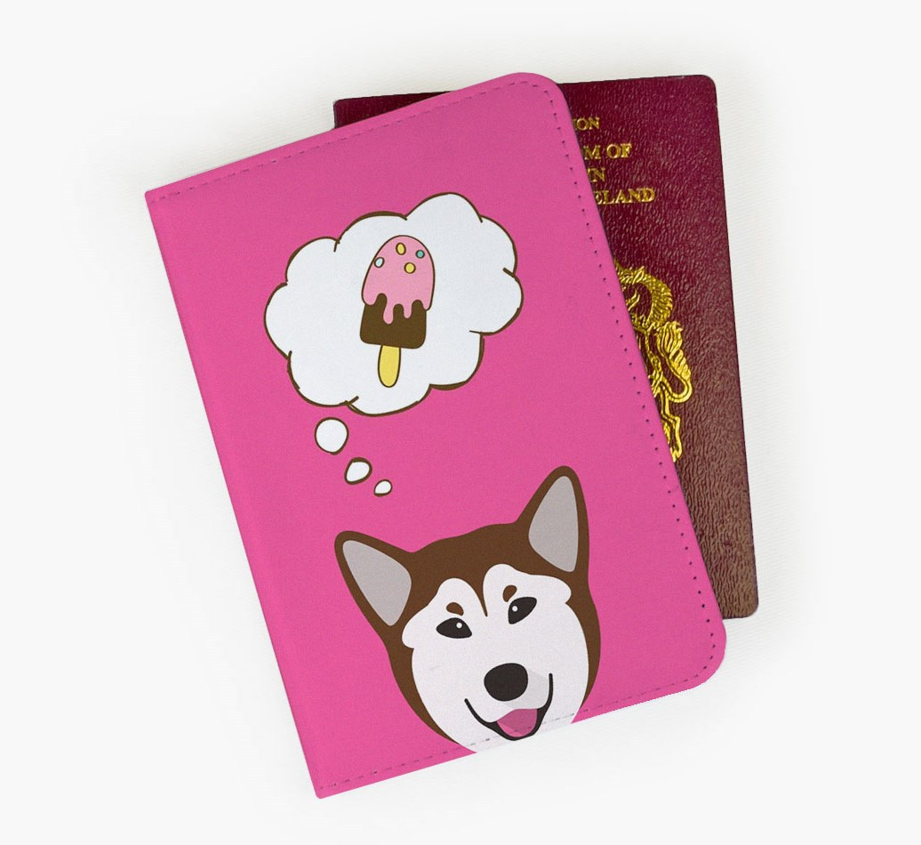Rescue Dog Passport Cover Front