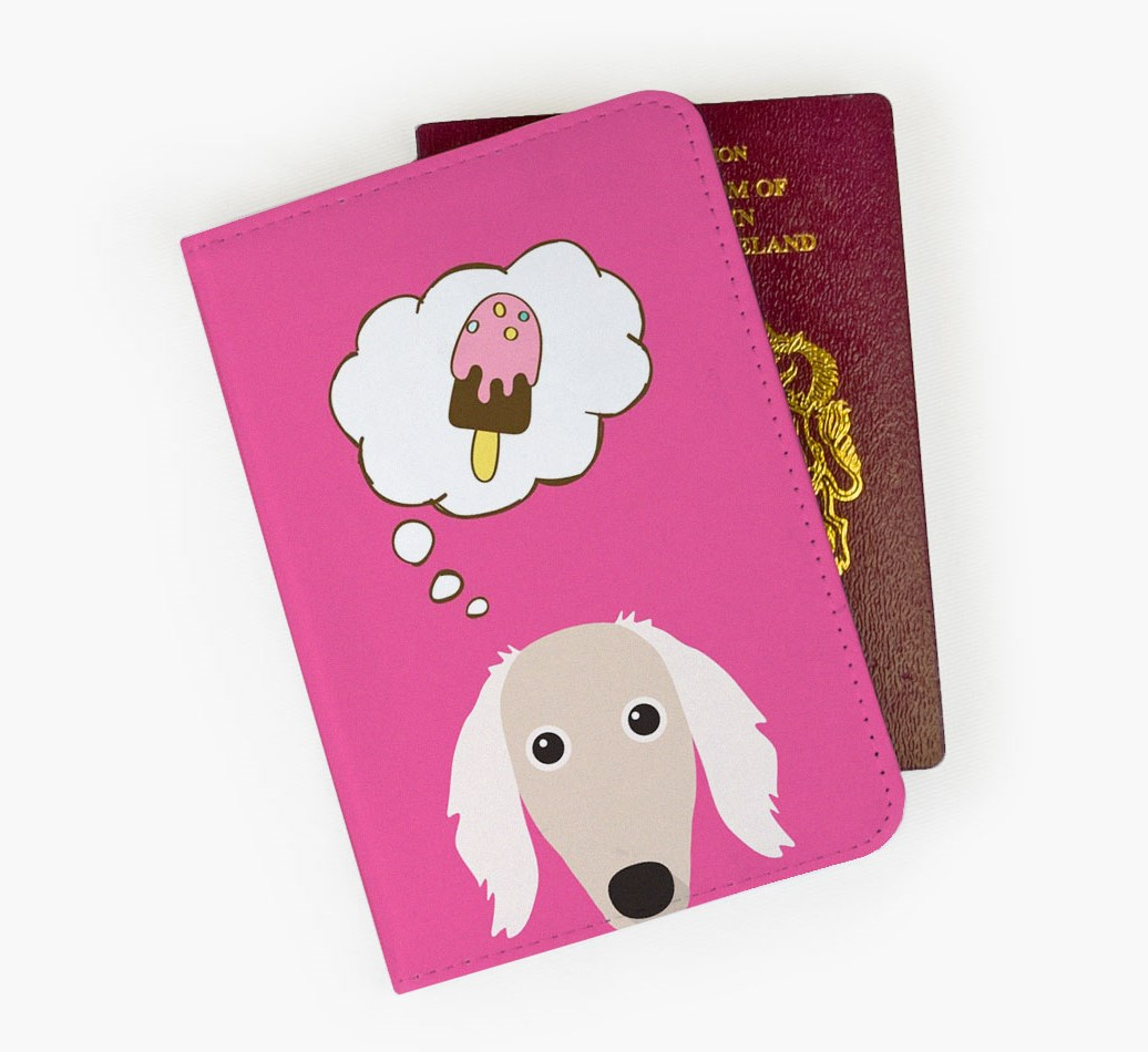 Saluki Passport Cover Front