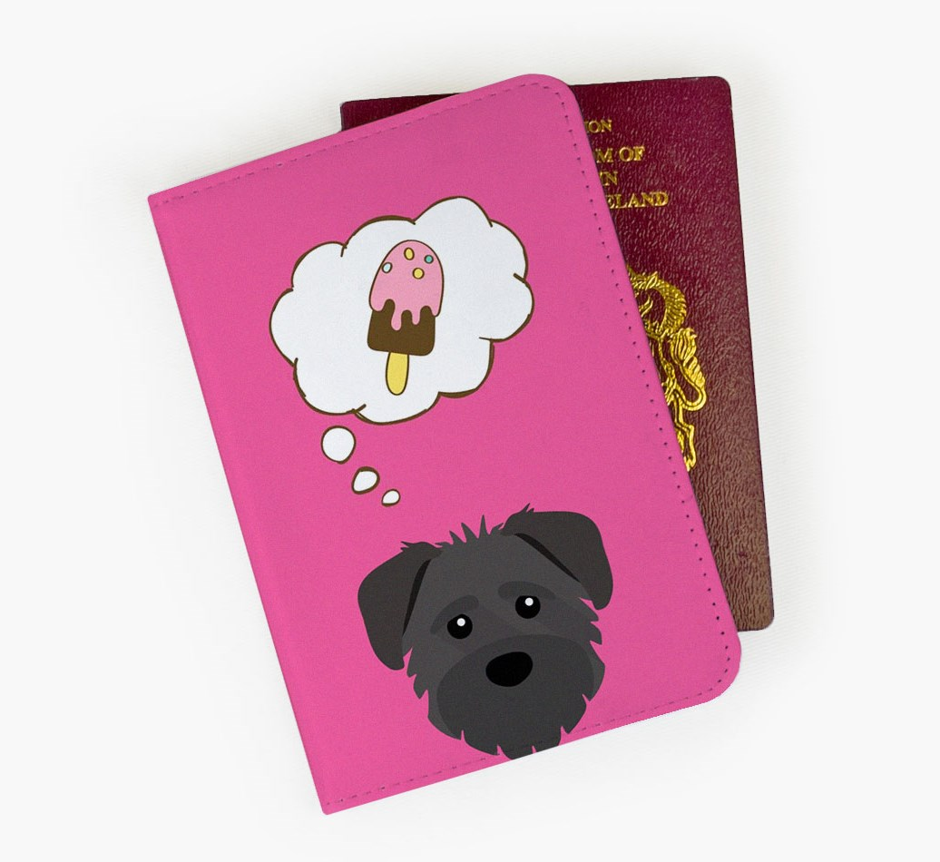 Schnoodle Passport Cover Front
