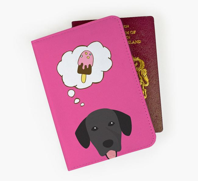 Passport Cover 'Ice Cream Dream' with Springador Icon