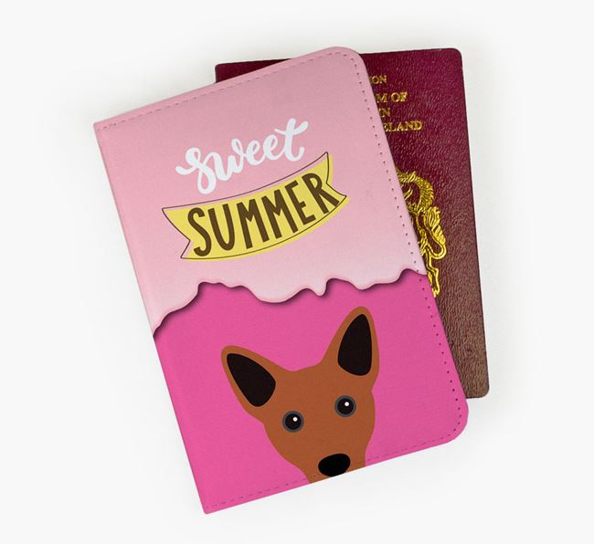 Passport Cover 'Sweet Summer' with Cojack Icon